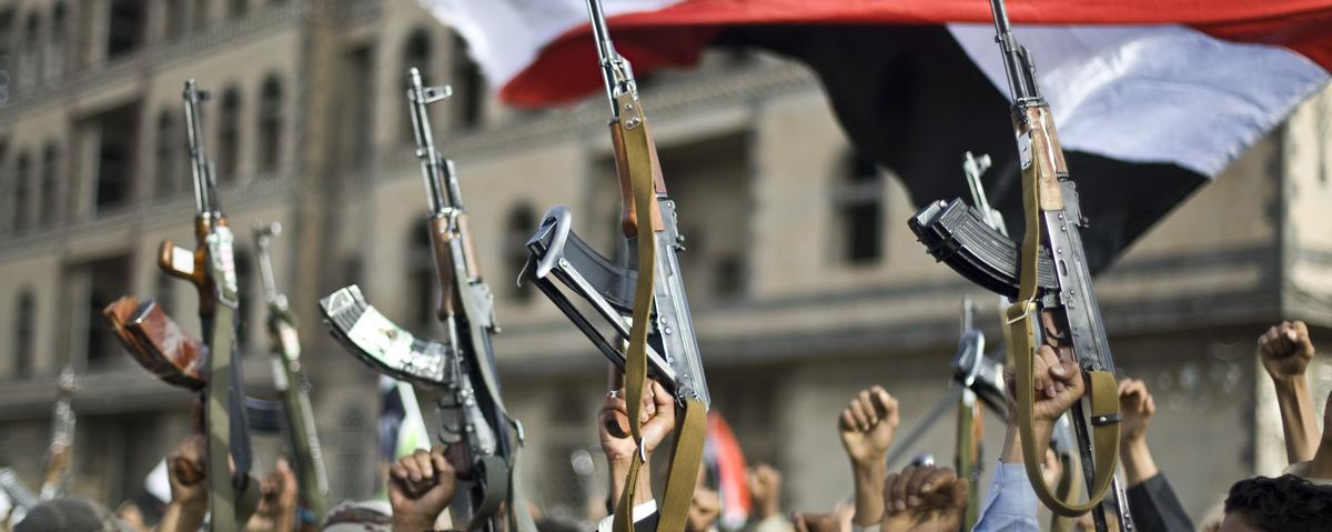 UN Security Council Hits Yemen's Houthis with Arms Embargo and Sanctions