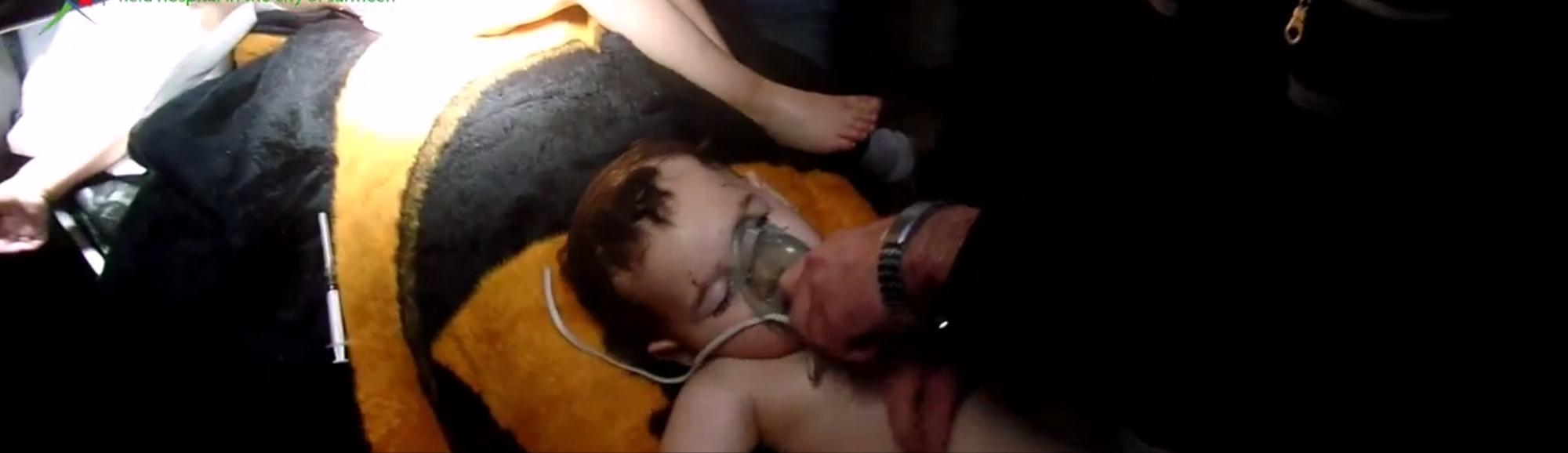 Horrifying Videos Shown at UN Display Carnage of Suspected Chlorine Attacks in Syria