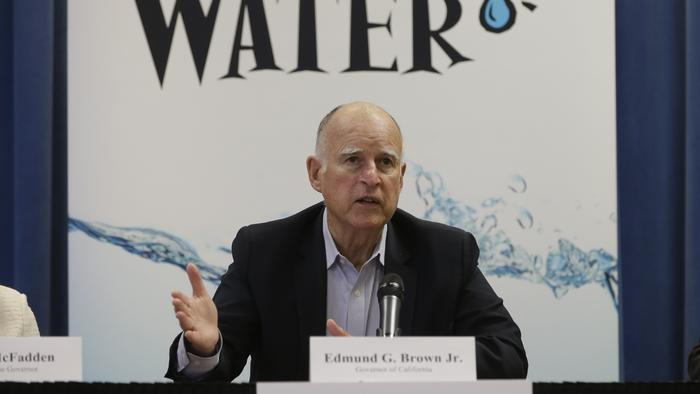 California's Governor Faces Criticism Over Drought-Relief Policies