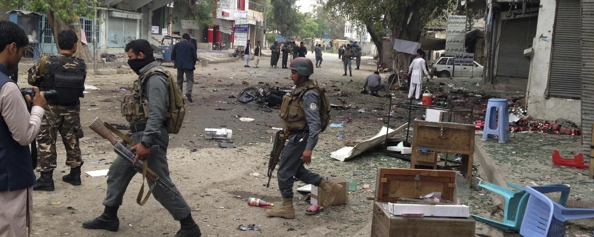 Islamic State Offshoot in Afghanistan Claims Deadly Suicide Attack on Bank