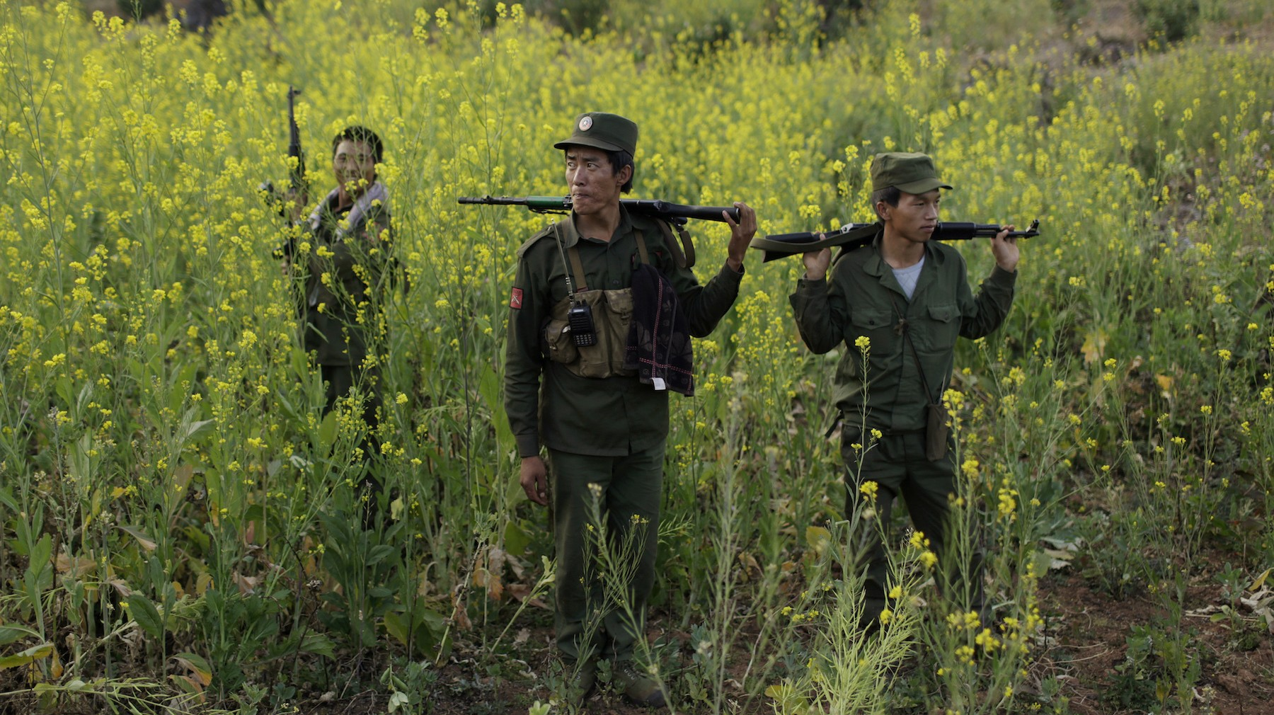 Fighting Continues in What Could Become the Crimea of Myanmar