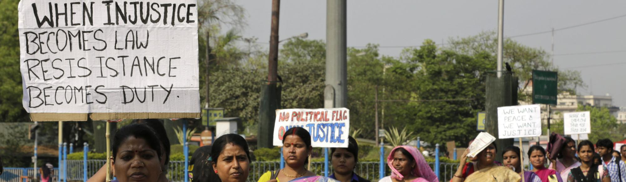 India's Government Doesn't Seem to Care That Husbands Can Legally Rape Their Wives