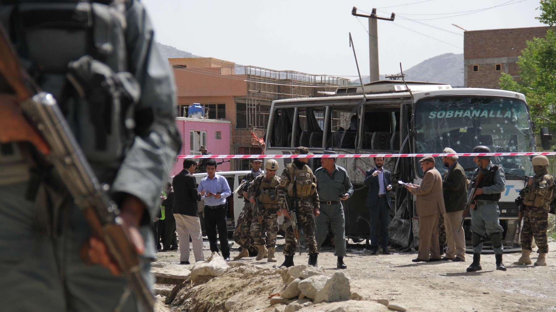 Taliban Claims Suicide Attack While Suggesting an Opening for Peace Talks