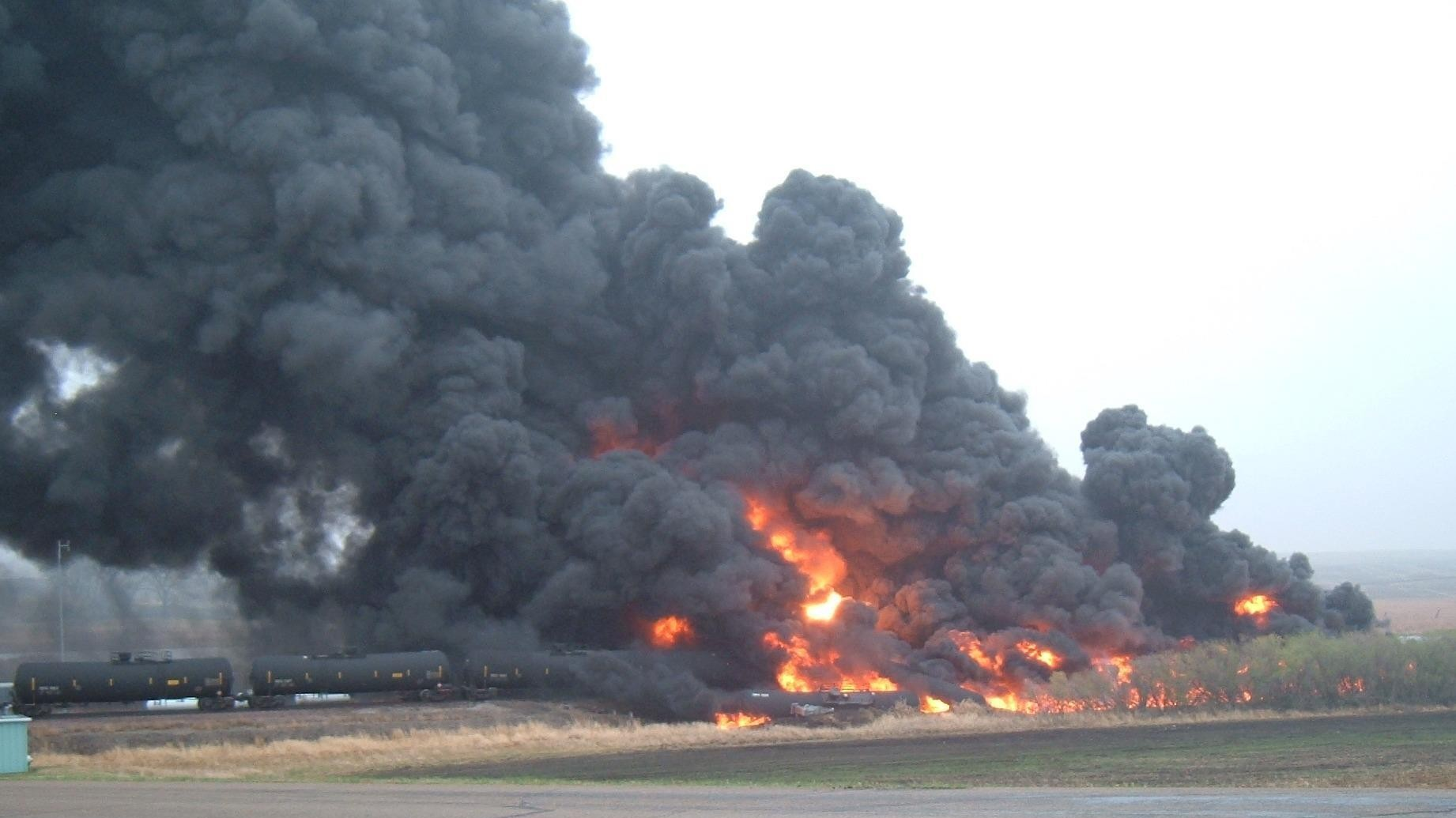 Another 'Bomb Train' Just Exploded in North Dakota
