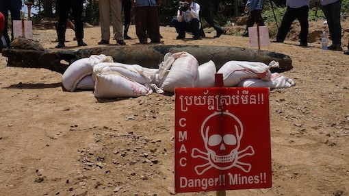 Joining Cambodia's Underwater Bomb Squad on their First Live Disposal Mission