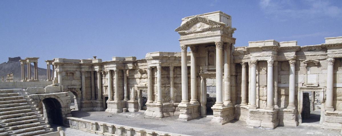 ancient sites in palmyra unharmed islamic state shows in photo   ancient sites in palmyra unharmed islamic state shows in photo essay