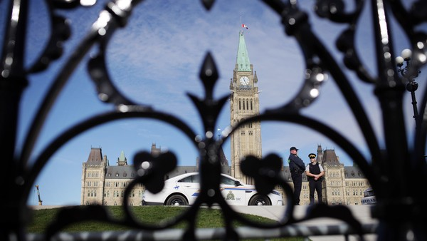 Canada Releases Full Video of Gunman Before He Ambushed Parliament Last Year
