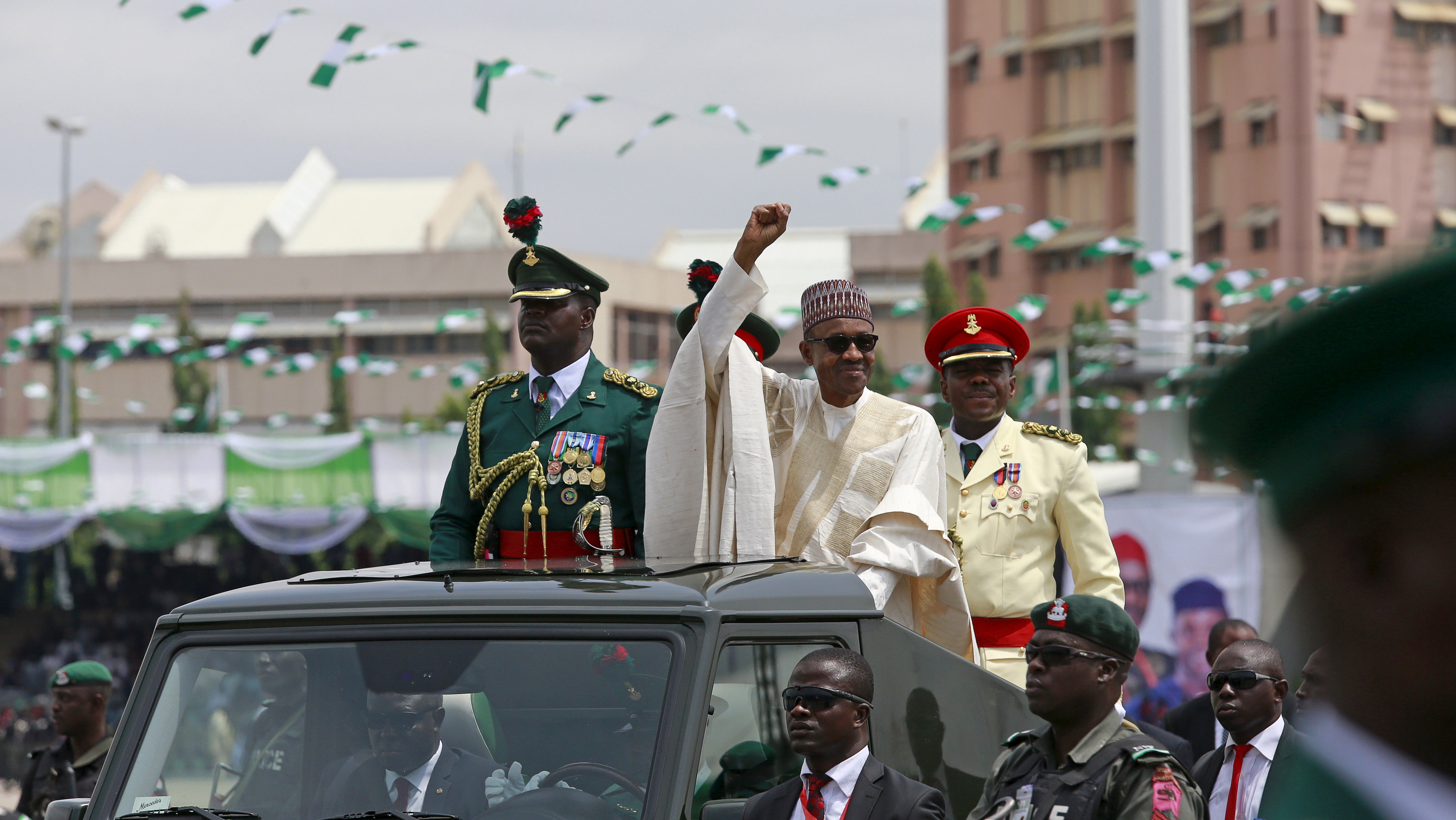 Nigerian President Vows to Tackle 'Godless' Boko Haram In Inauguration Ceremony