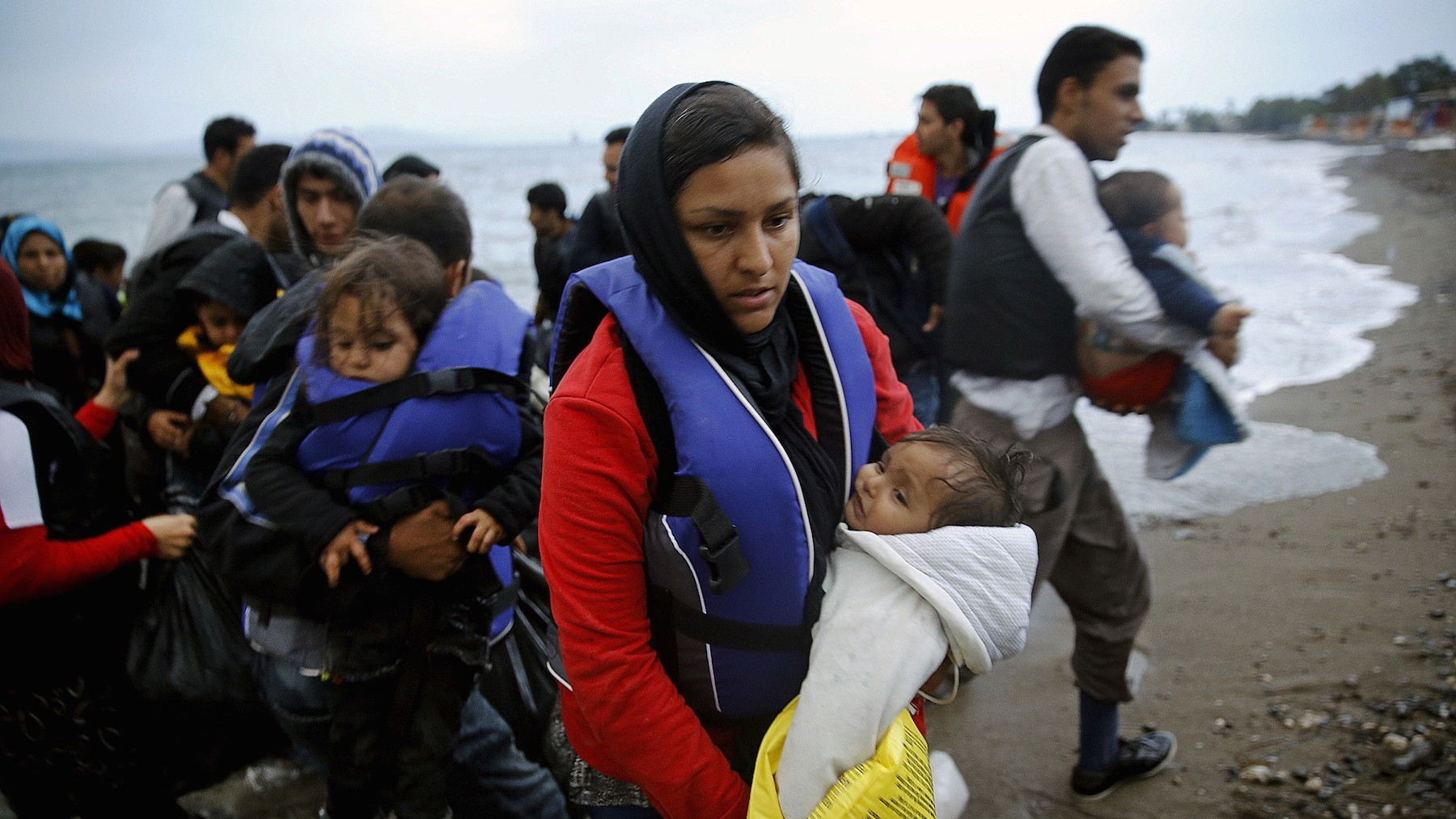 The Number of Migrants Trying to Reach Europe via Greece Has Surged by 500 Percent