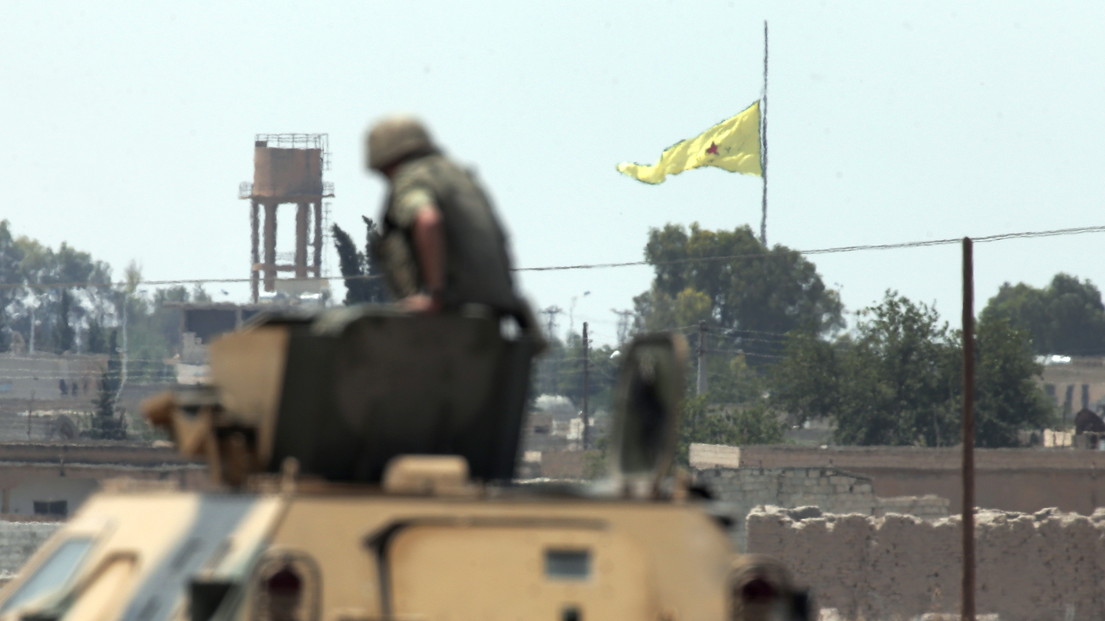Syrian Kurds and Allies Retake Islamic State-Held Border Town
