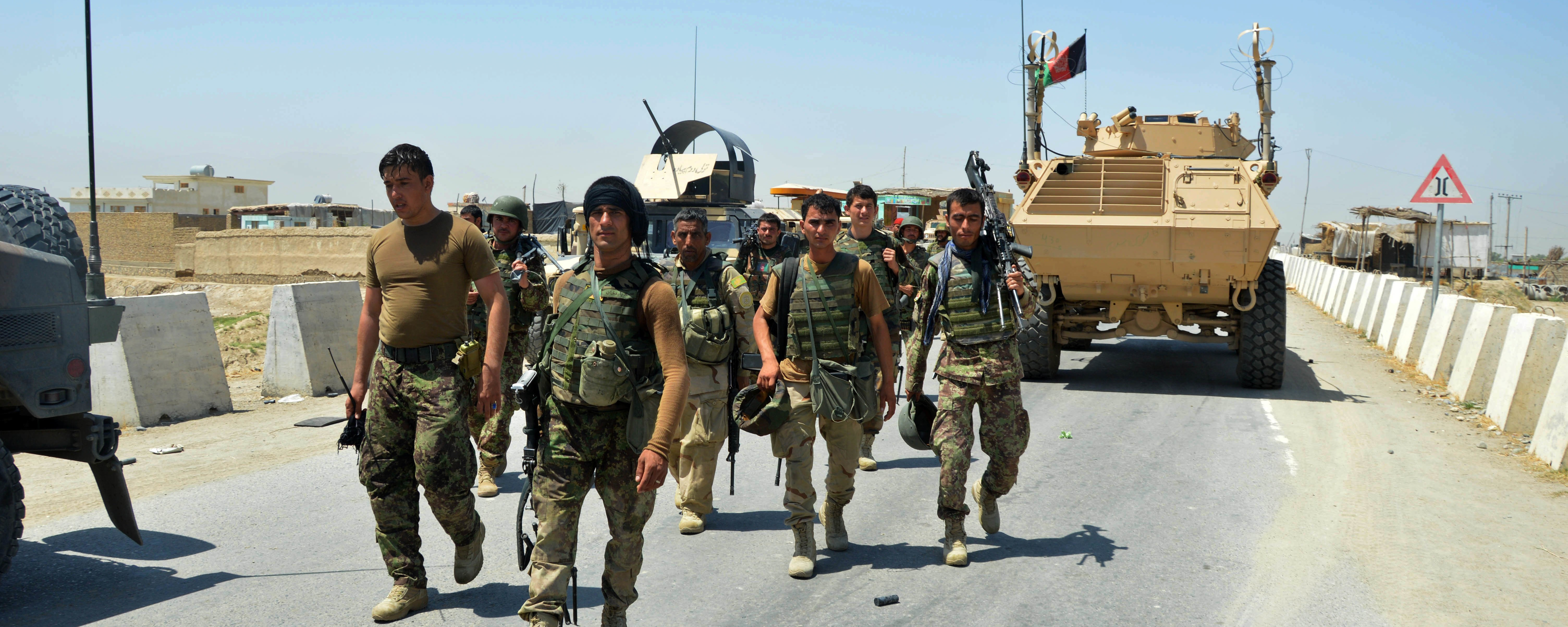 Afghan Security Forces Retake Key Northern District From Taliban