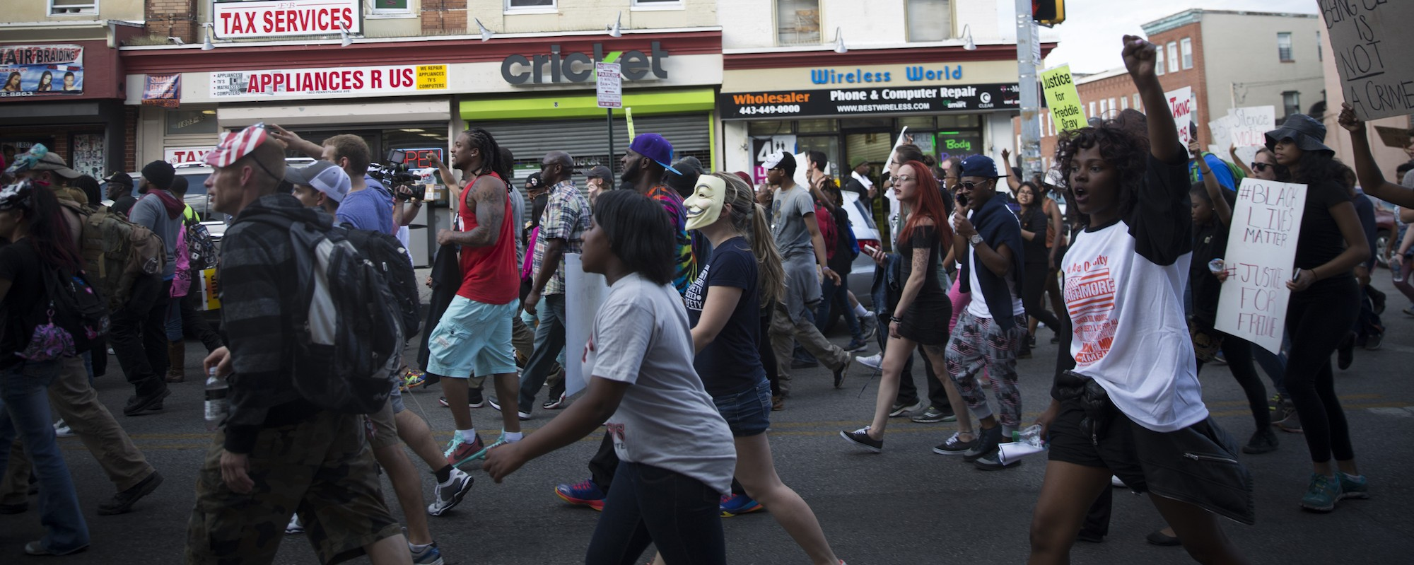 Fearing a 'Catastrophic Incident,' 400 Federal Officers Descended on the Baltimore Protests