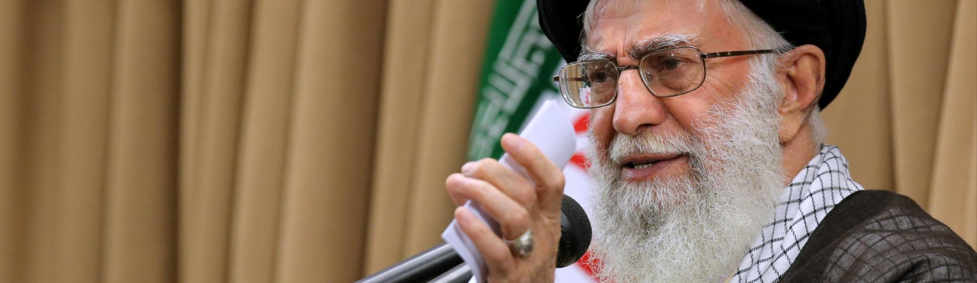 Iran's Supreme Leader Toughens Nuclear Talks Position