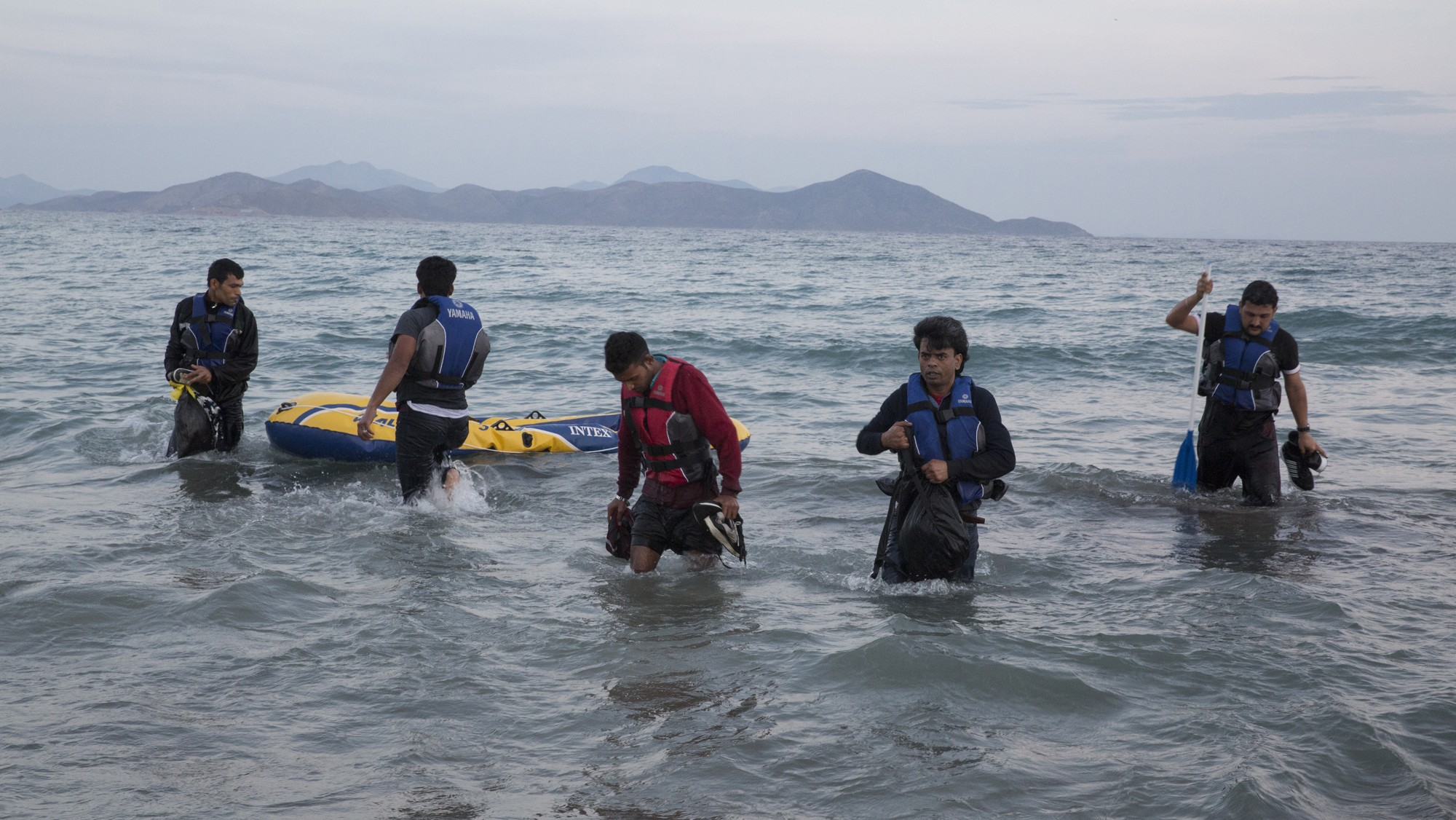 Last Resort: Witnessing the Migrant Crisis on Kos Island, Europe's New Frontier