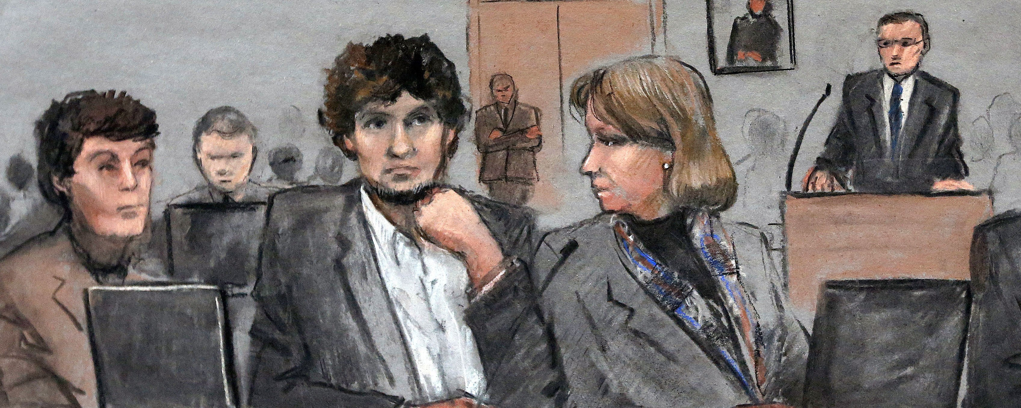 Dzhokhar Tsarnaev Breaks Silence in Court Before Judge Sentences Him to Death