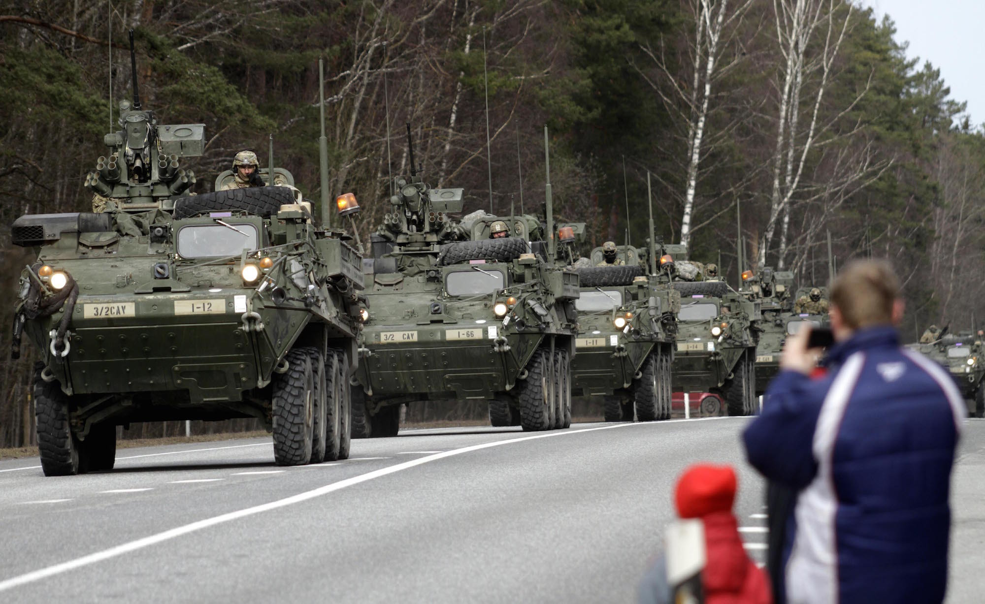 Another war in the center of Europe