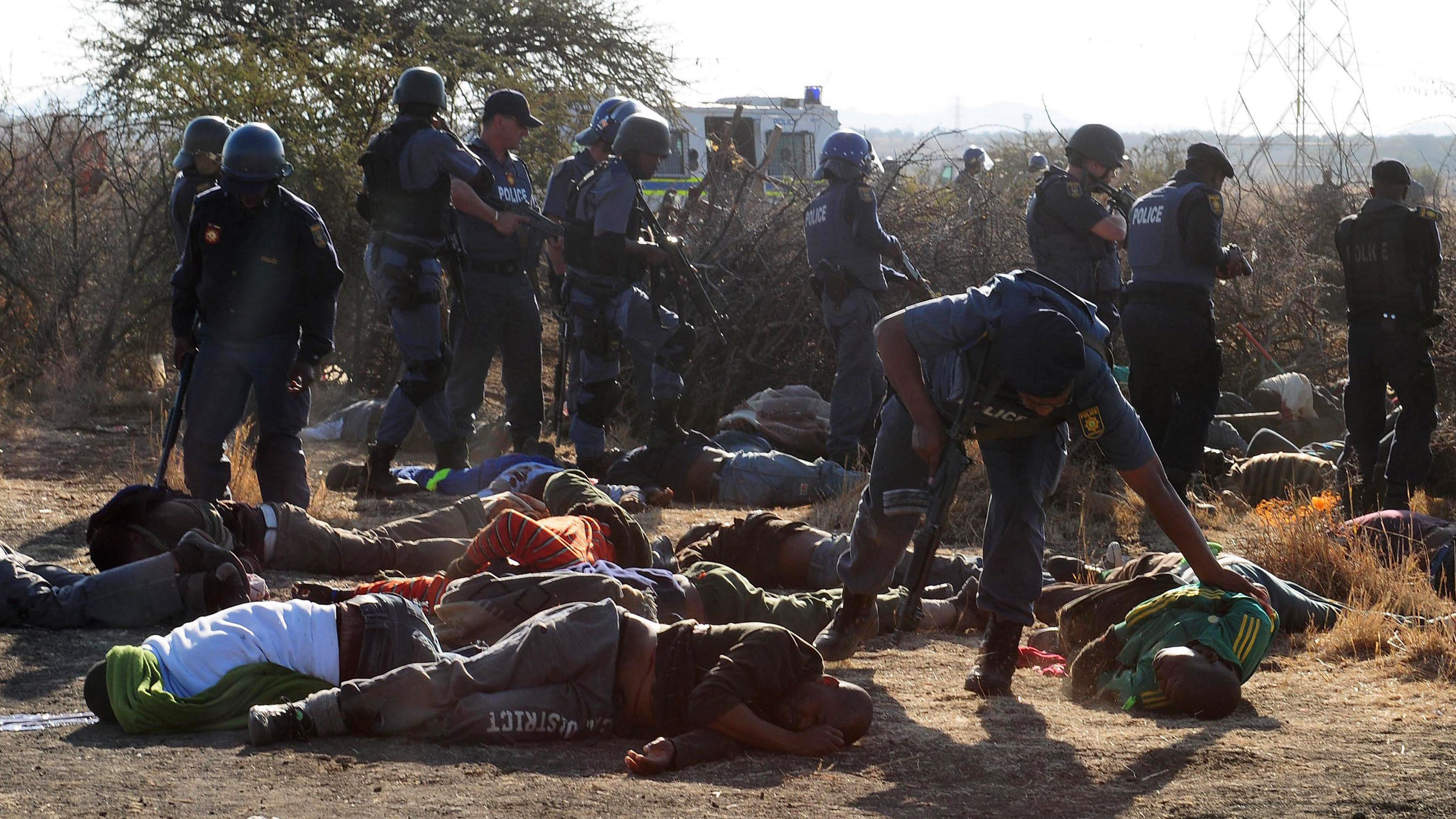 South African Police Acted Without 'Command and Control' in Marikana Mine Massacre