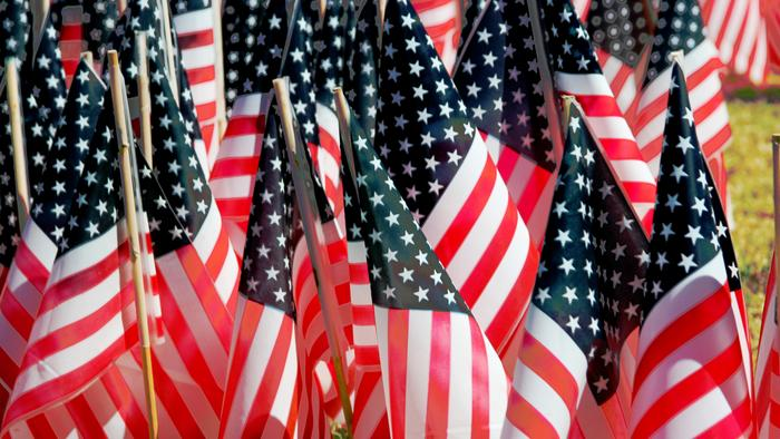 Number in US Saying They're 'Extremely Proud' to Be American in Decline