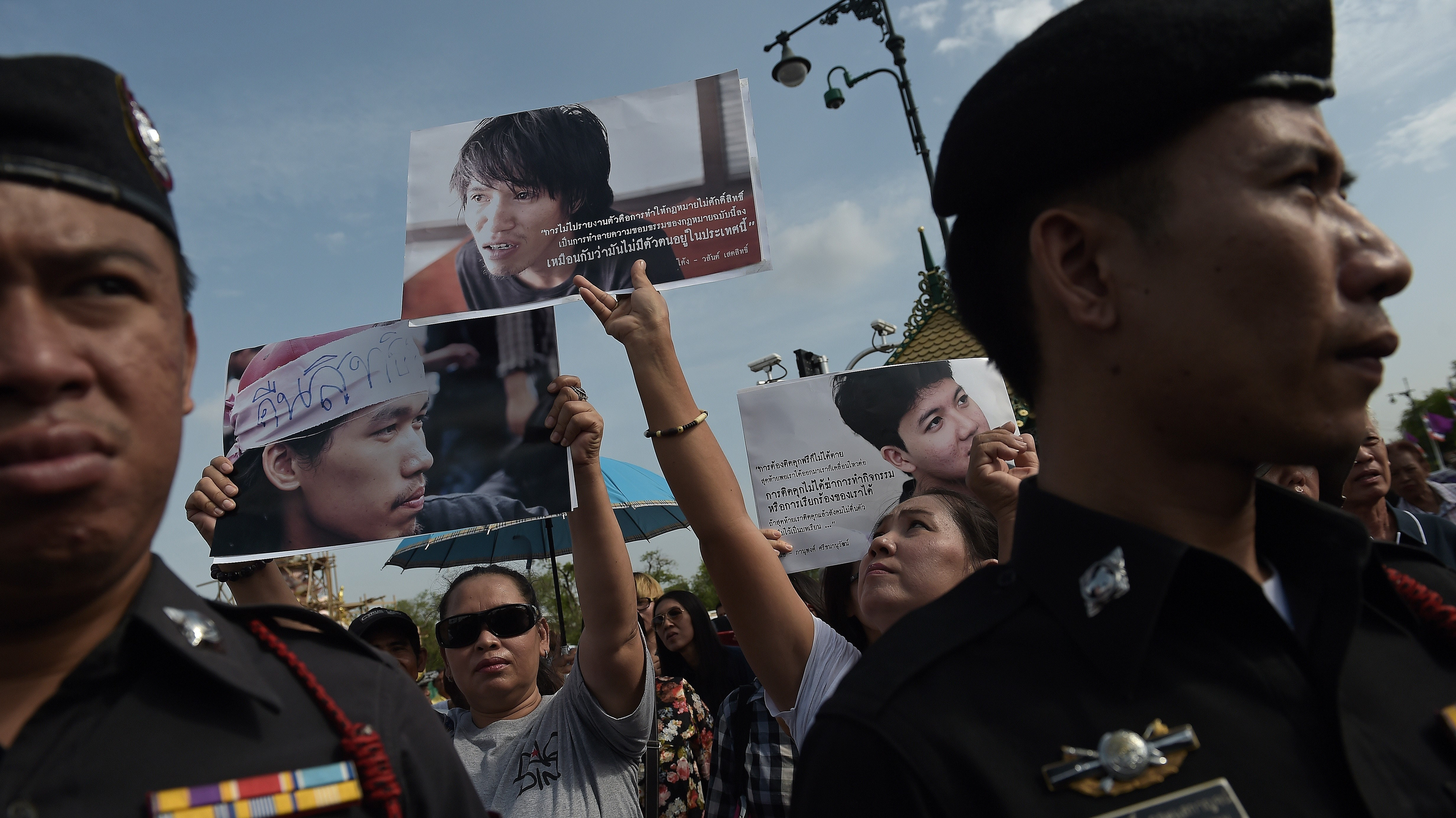 Thai Court Orders Release of Pro-Democracy Activists Who Rallied Against the Junta