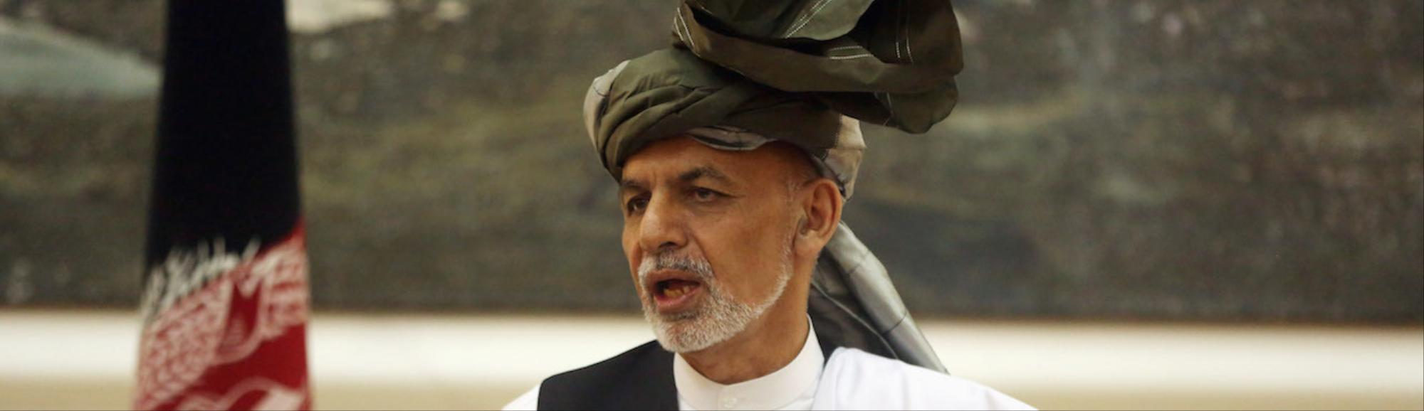 Afghan President Advocates Taliban Peace Talks as Bomb Hits Mosque in the North