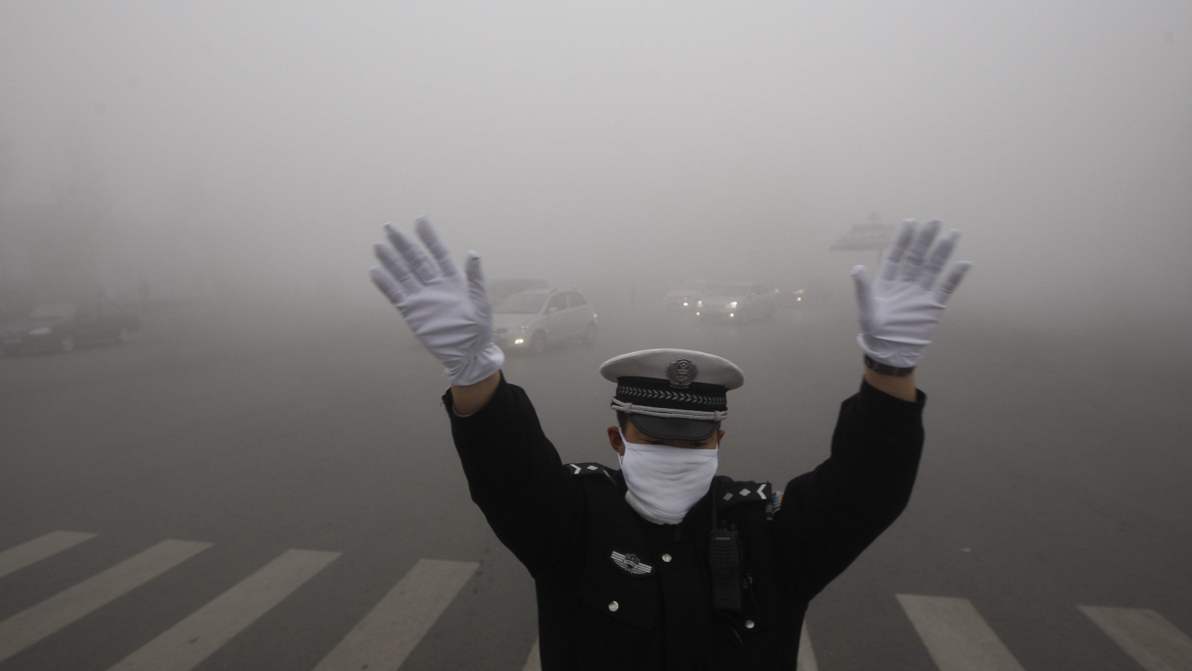 Despite Waging a 'War on Pollution,' China's Air Is Still Really Filthy