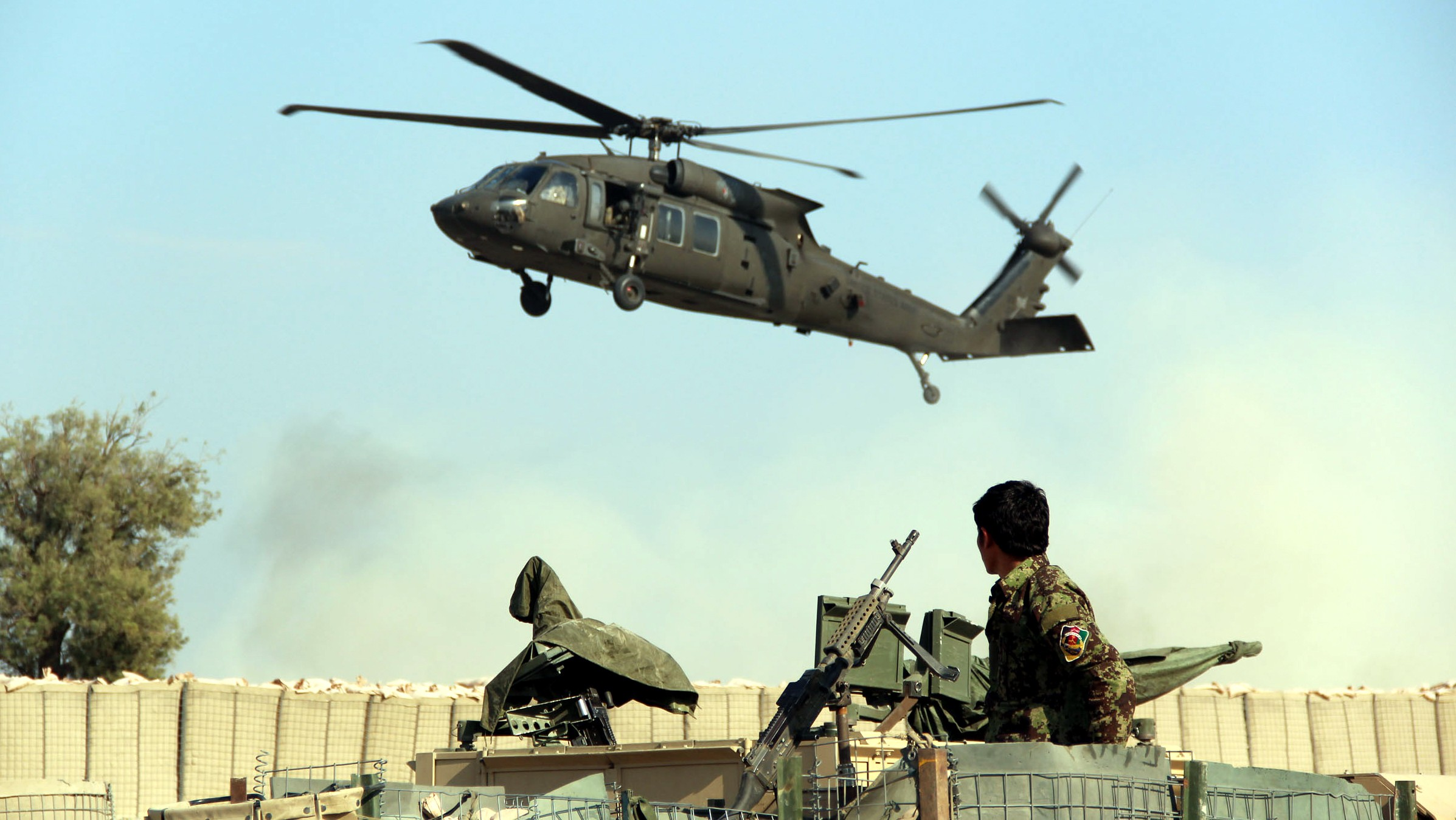 Afghan Soldiers Killed by US 'Friendly Fire'