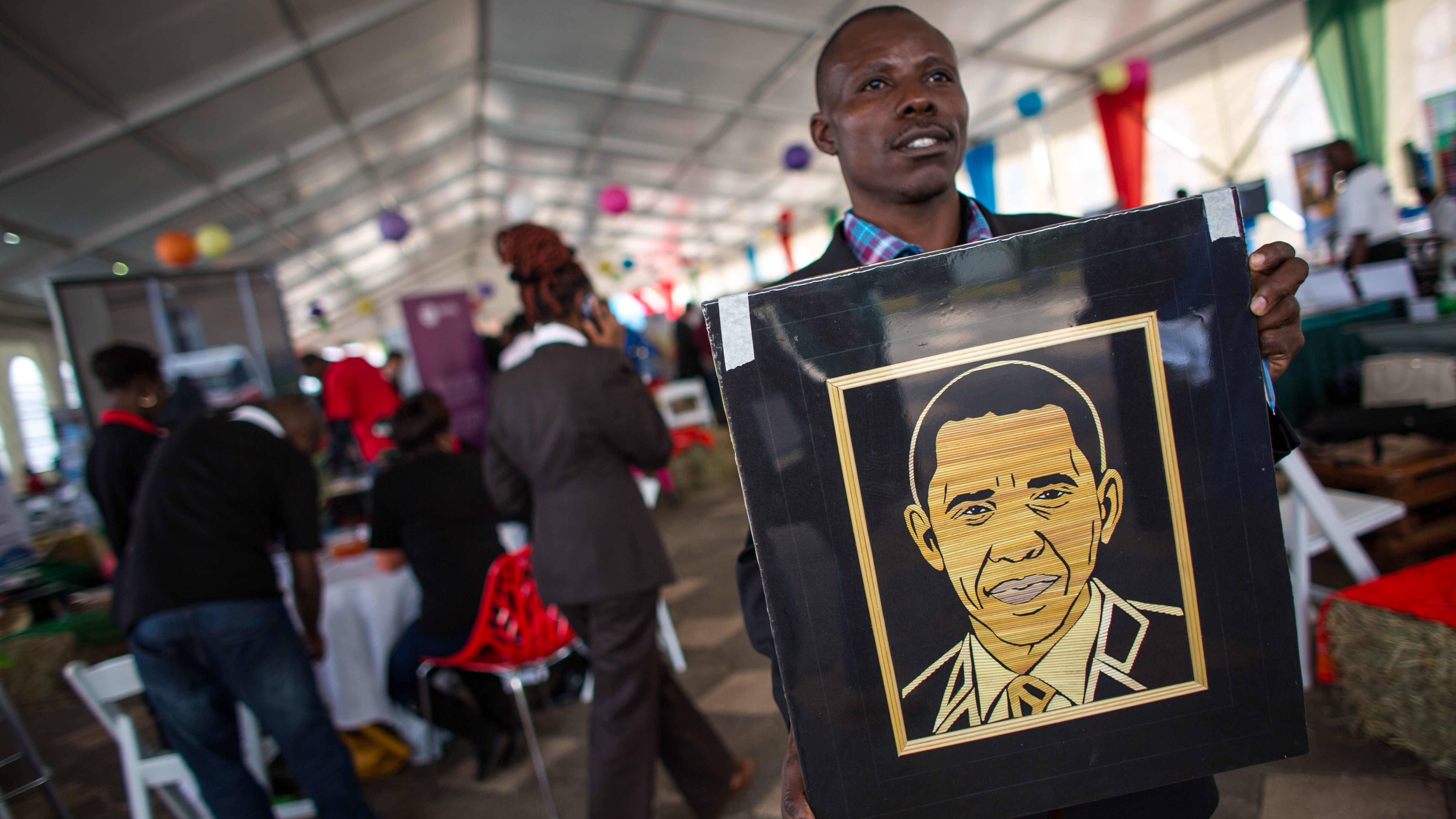 Obama Heads to a Kenya in Turmoil on His First Visit to the Country as President
