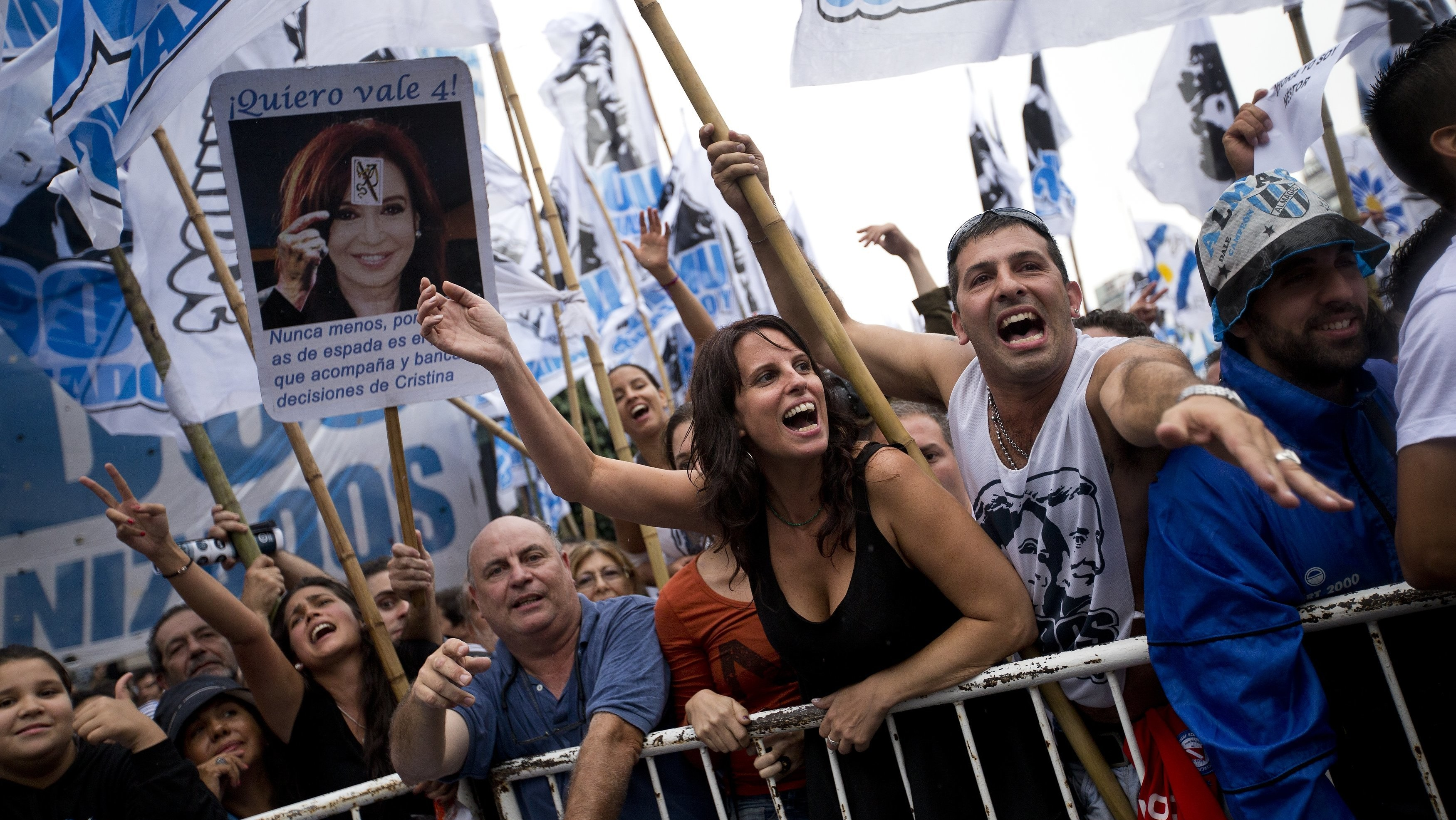 Kirchner Allies in Argentina's Congress Want to Censor Discriminatory Comments Online