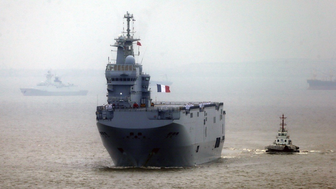 France and Russia Finally Reach Deal Over Suspended Warship Delivery