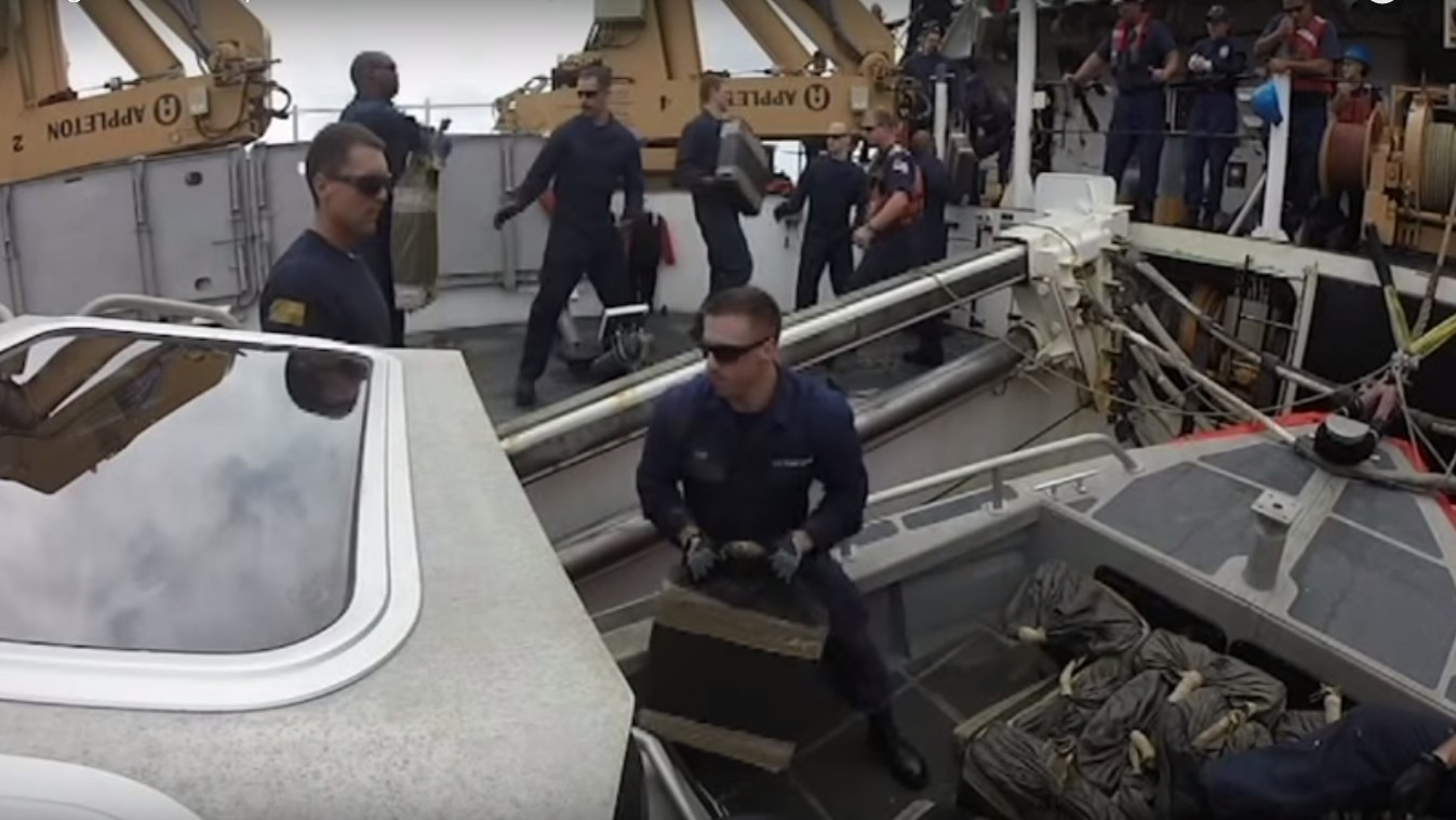 The Coast Guard Lost 4,000 Pounds of Cocaine in the Pacific Ocean During a Record Bust