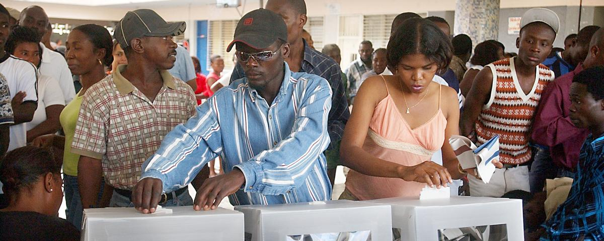 Long-Overdue Haitian Elections Marked by Violence and Delays
