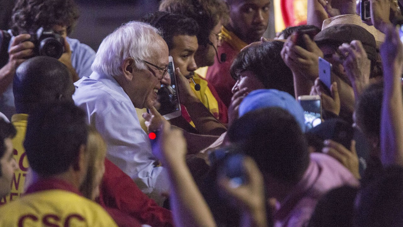 Third Time's the Charm for Bernie Sanders and Black Lives Matter