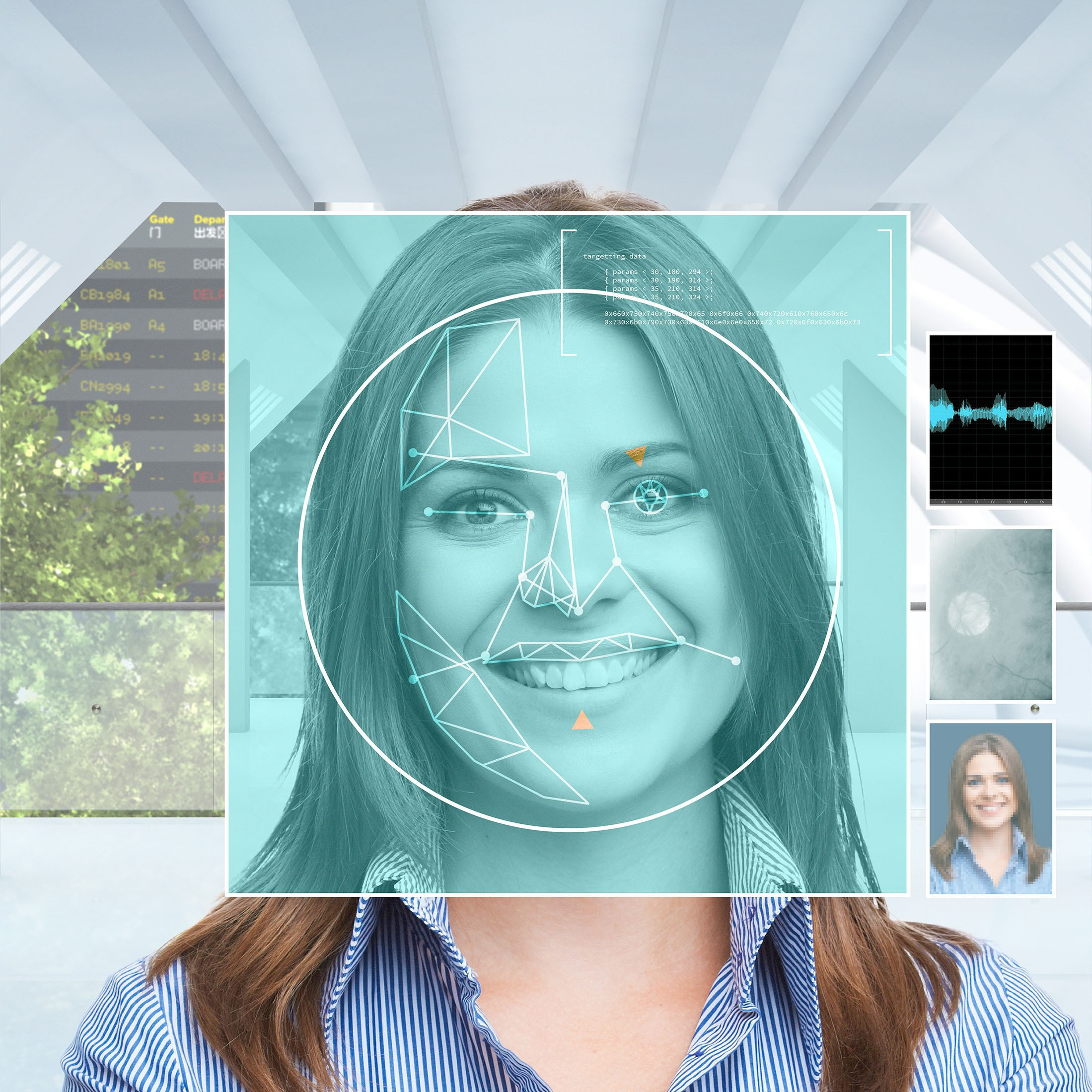 Identical twins facial recognition