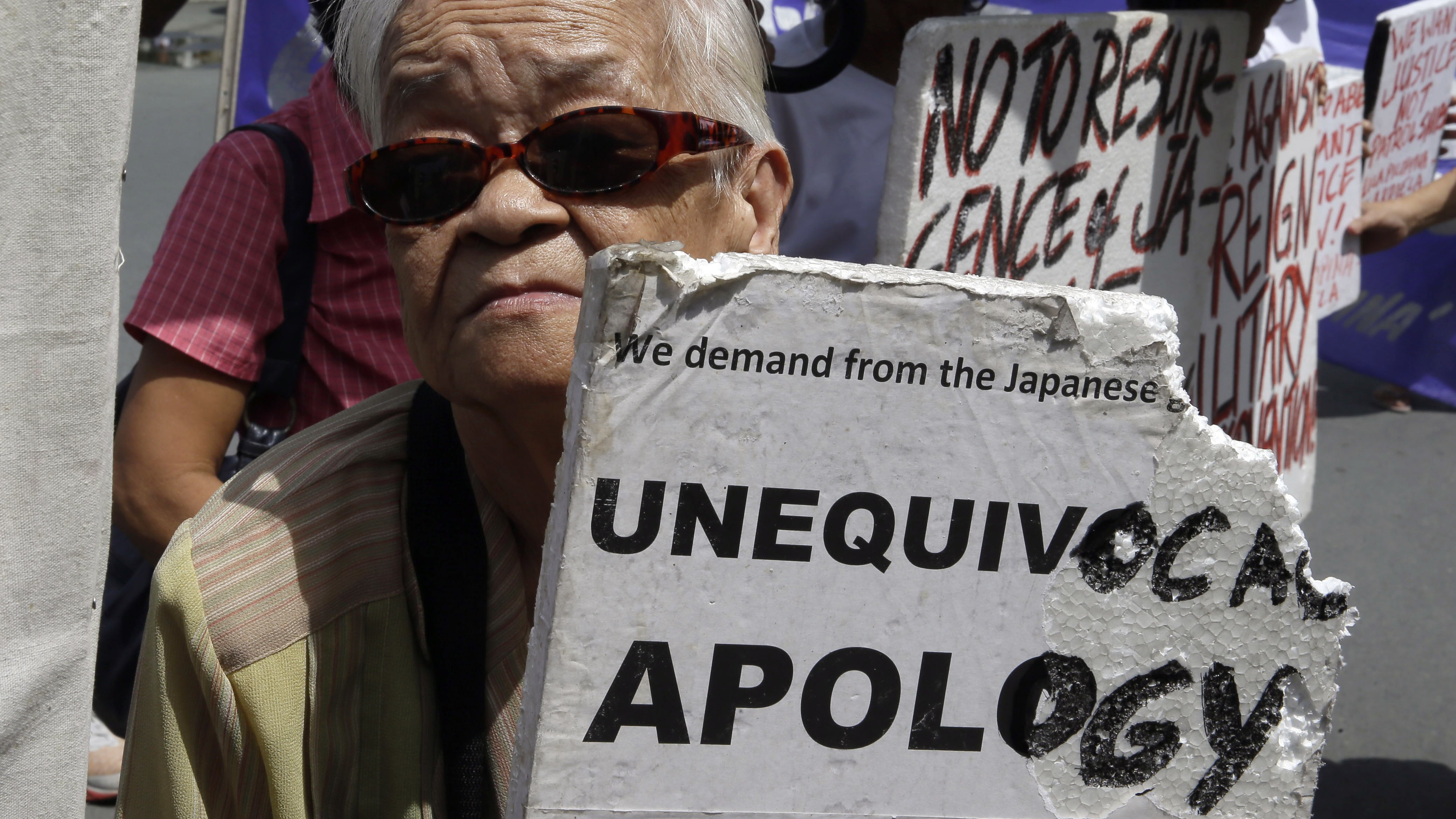 the suffering of the korean comfort women in world war ii The payment is meant as compensation for their suffering  japan offers reparation to korean 'comfort women  after the end of world war ii,.