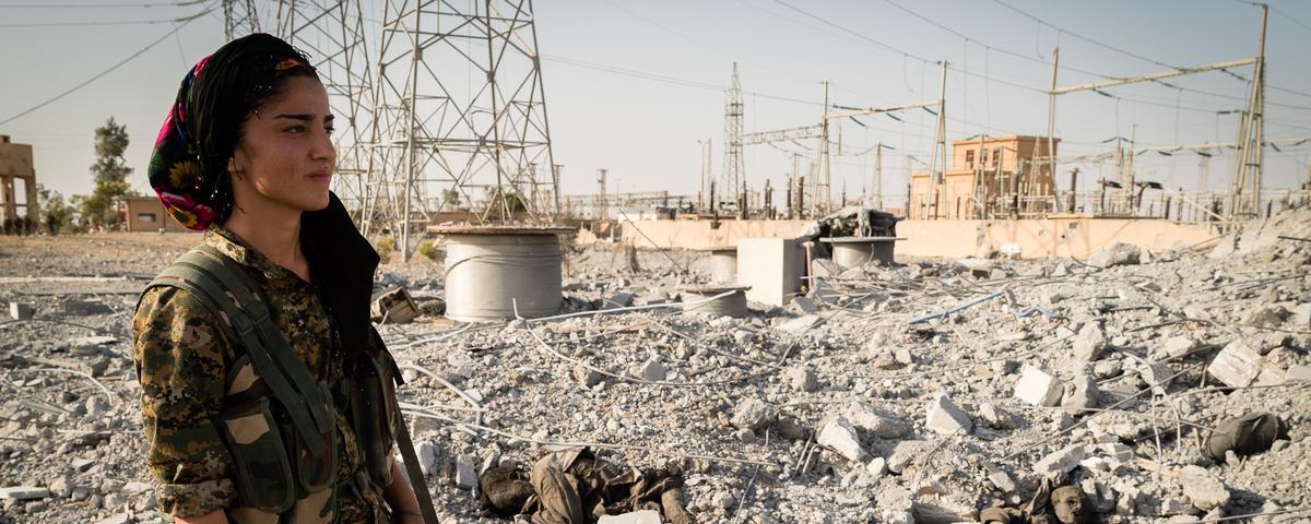 What We Learned While Embedded With Kurdish Forces Clearing the Islamic State From Hasakah