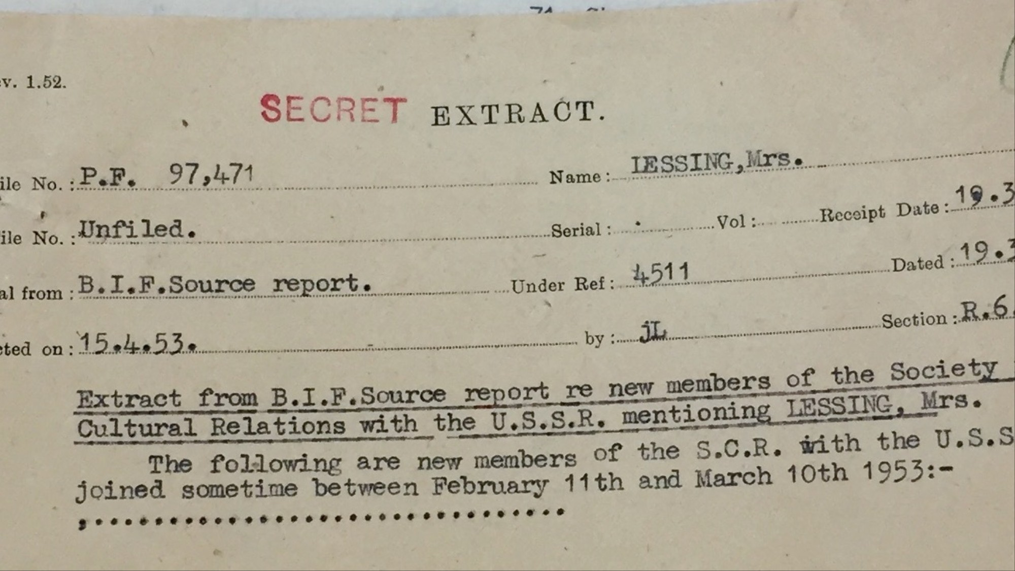 MI5 Spied on a Nobel Prize Winning Author for Over a Decade