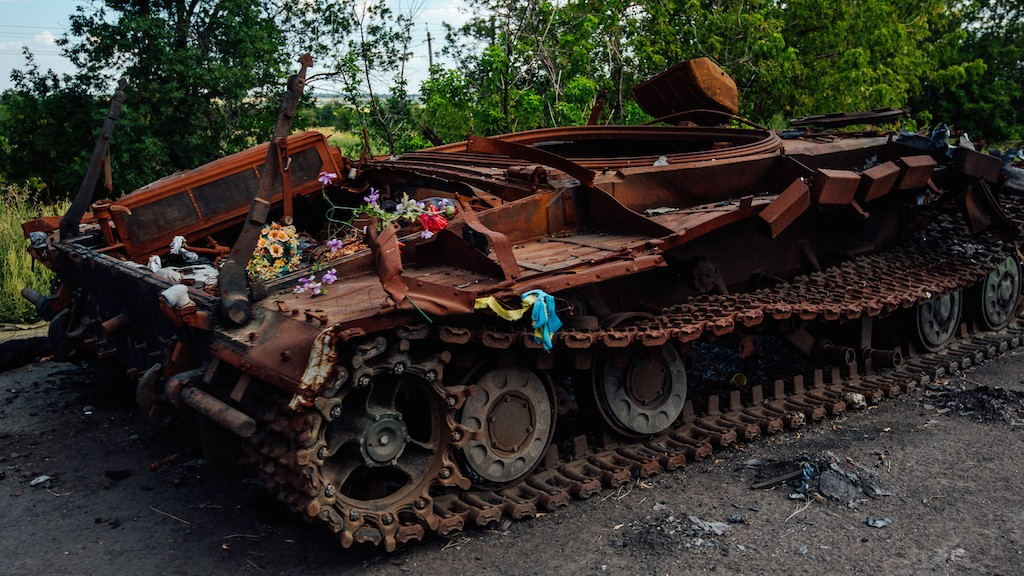 'We Want Orders to Attack': Celebrating Ukrainian Independence Day on the Eastern Frontlines