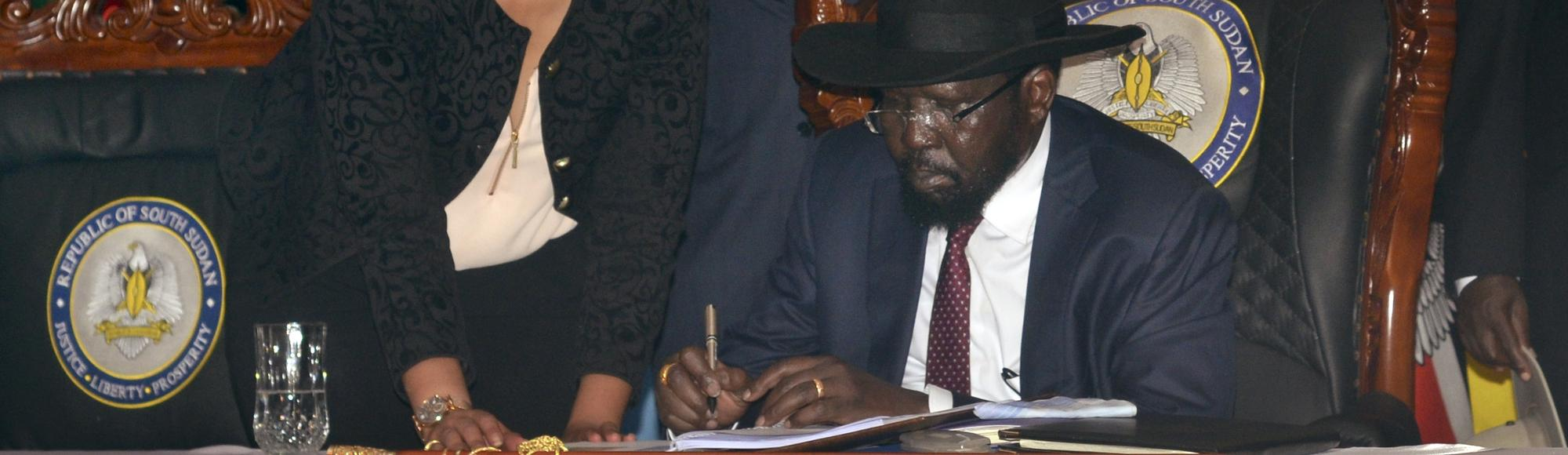 South Sudan's President Signs Deal to End Civil War, But Peace Still in Doubt