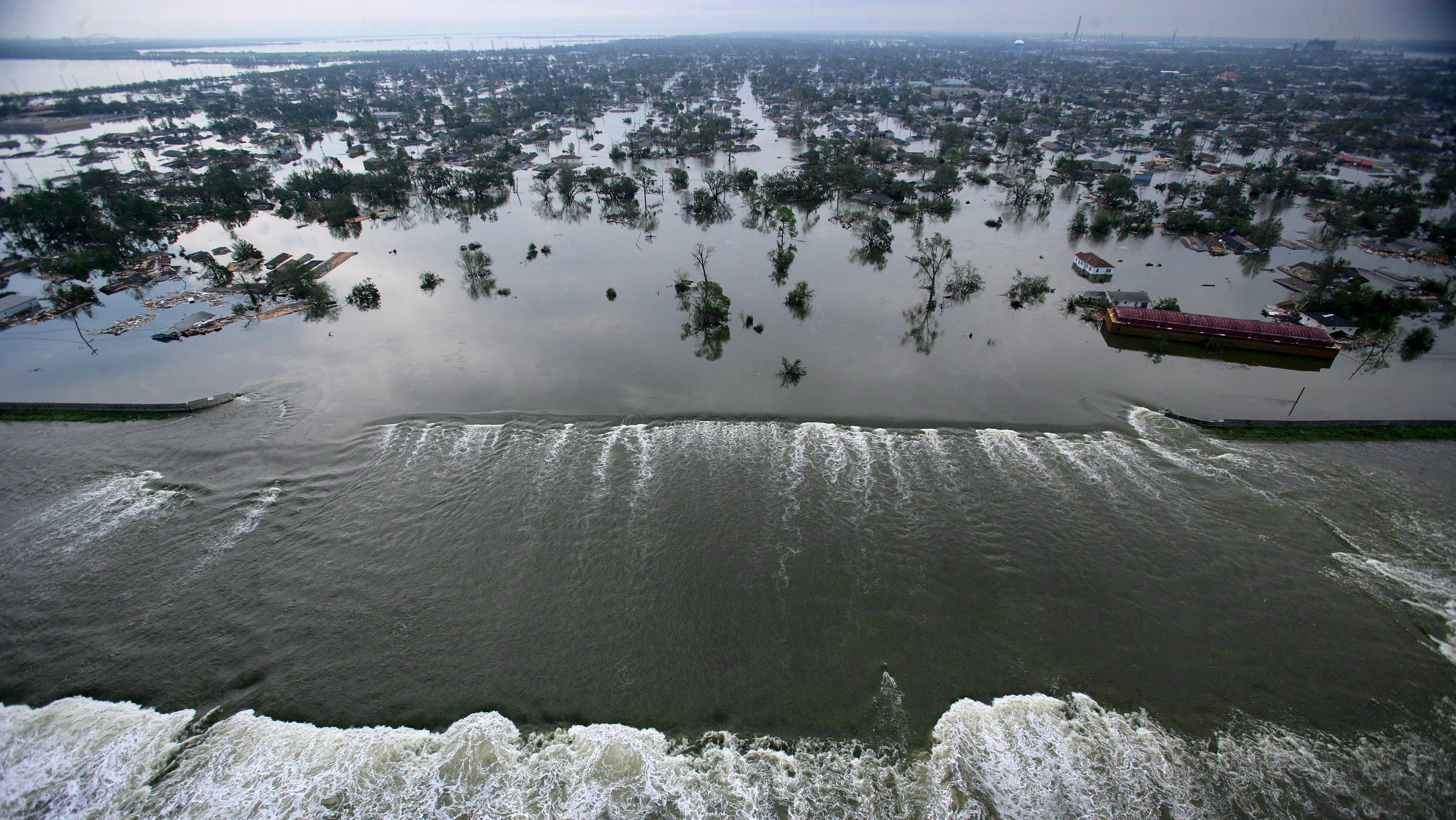 Ten Years After Katrina, Here's What's Happening to Louisiana's Coastline