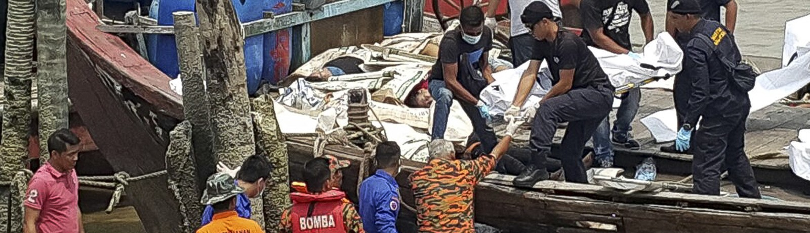 An Overloaded Boat Carrying at Least 70 Migrants Has Capsized Off Malaysia