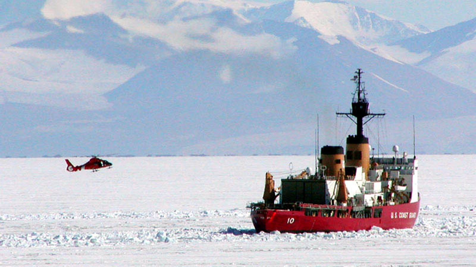 Global Warming Means the US Actually Needs More Icebreakers