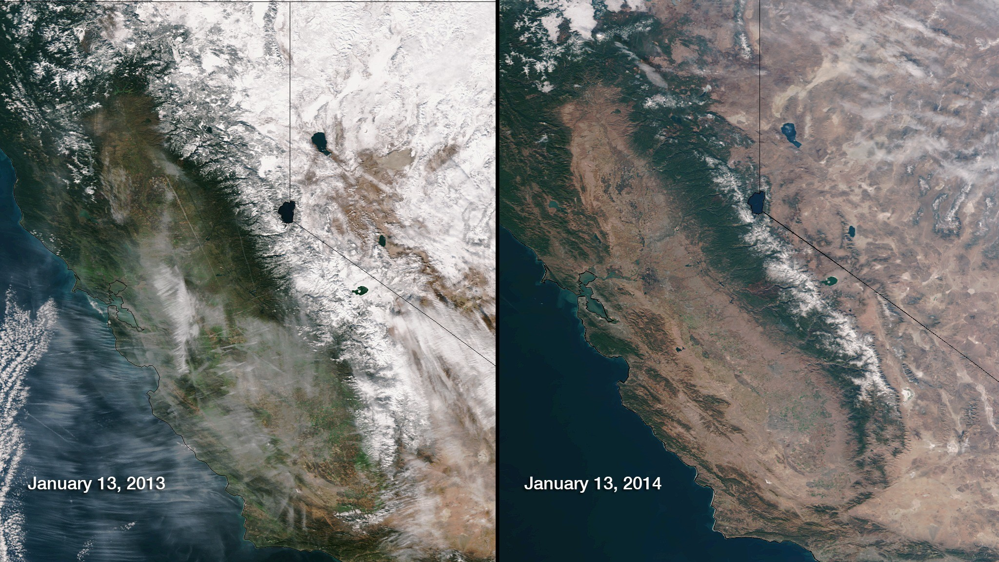 It's Been At Least 500 Years Since California Had This Little Snowpack