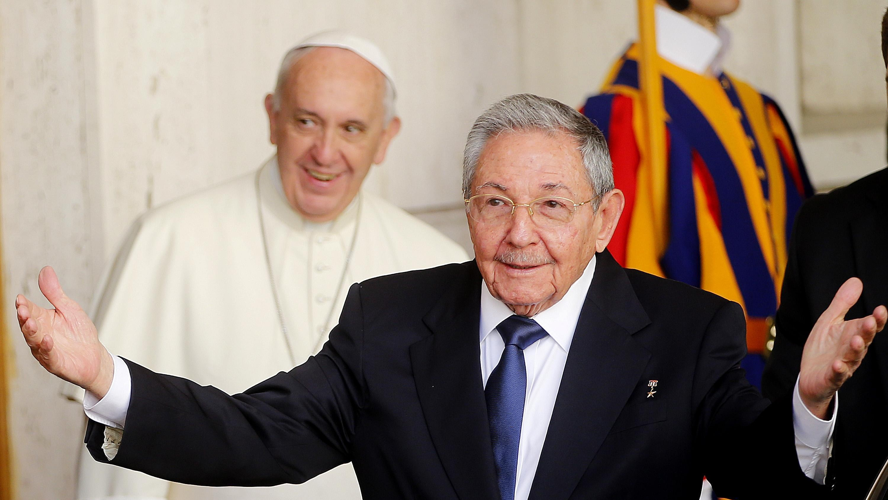 Pope Francis Warms Communist Leader's Heart Ahead of Cuba Visit