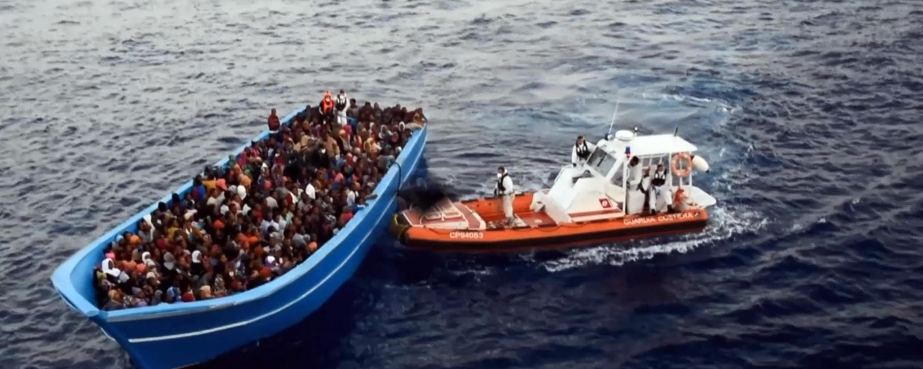 Nearly 4,700 Migrants Were Rescued Off Libya's Coast in a Single Day