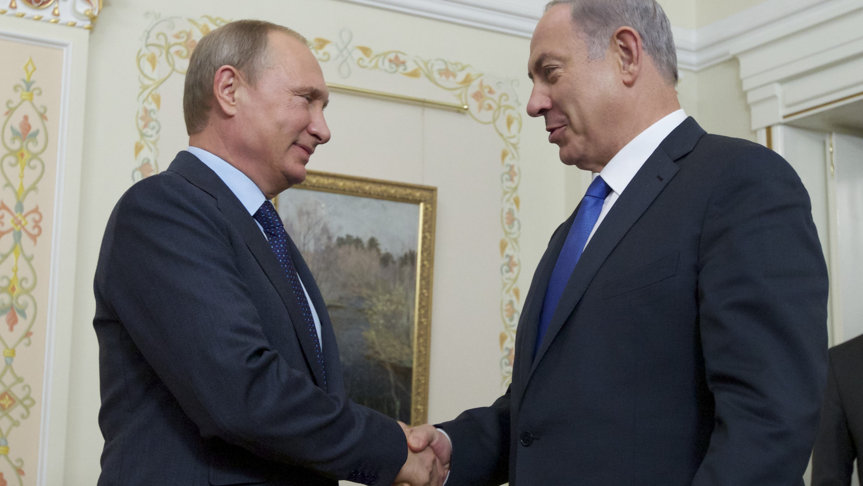 Israel and Russia Meet to Keep from Firing at Each Other in Syria
