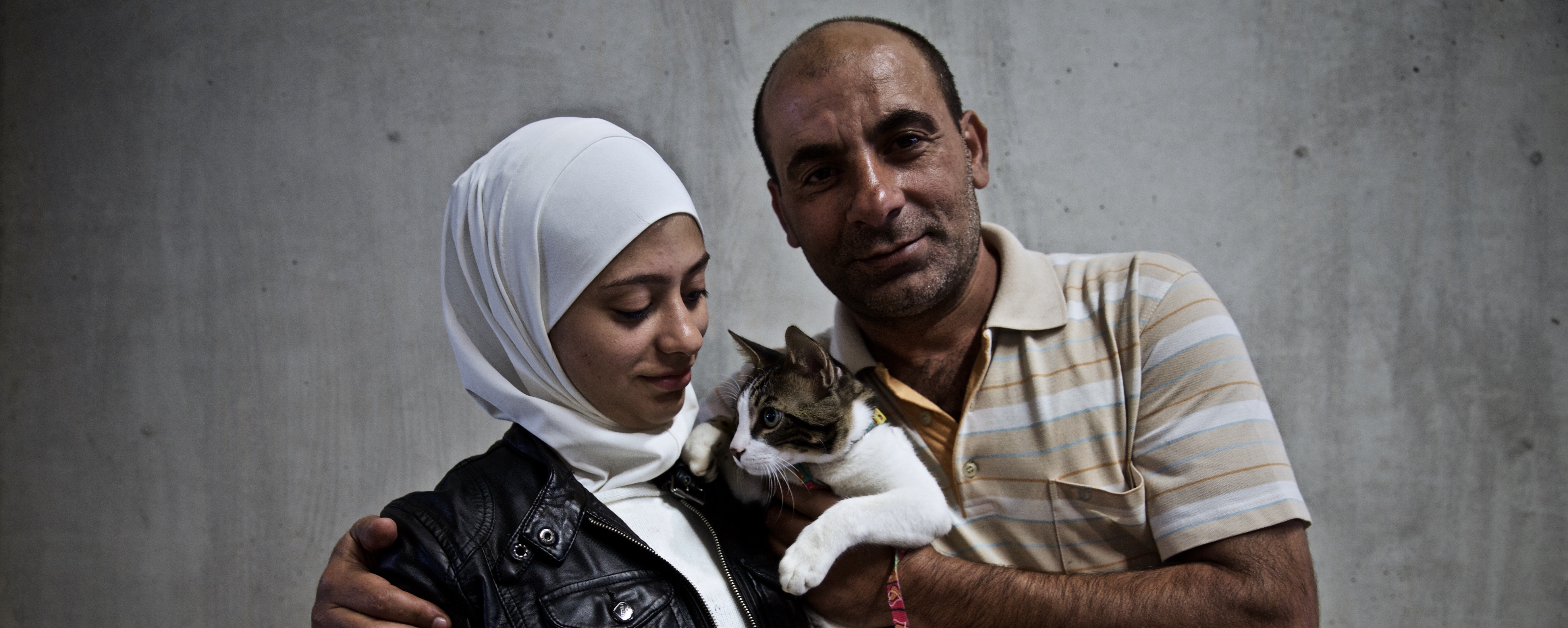 In Photos: The People, Families — and a Cat — Who Battled to Reach Europe