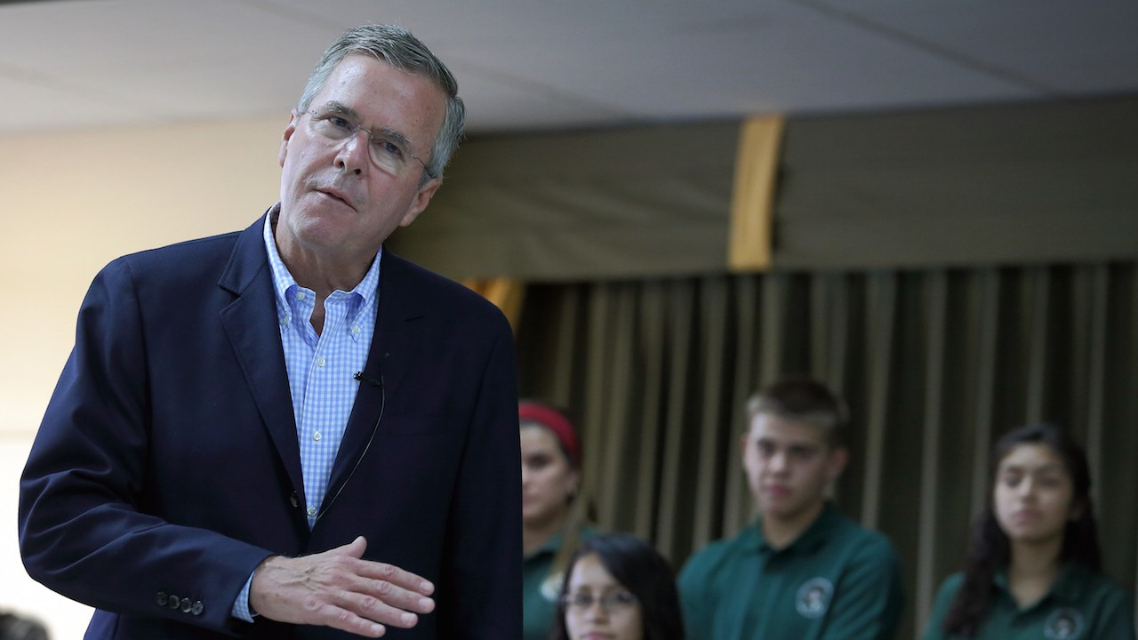 Jeb Bush Wants to Appeal to Black Voters Through 'Aspiration' and Not 'Free Stuff'