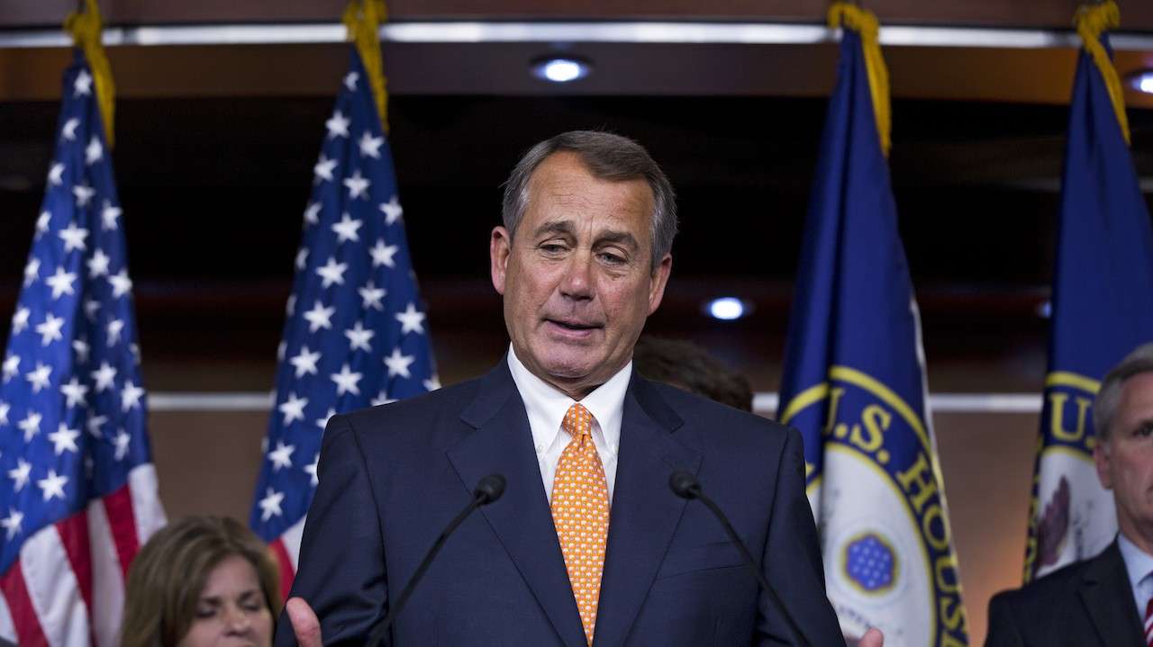 John Boehner To Step Down as Speaker of the House