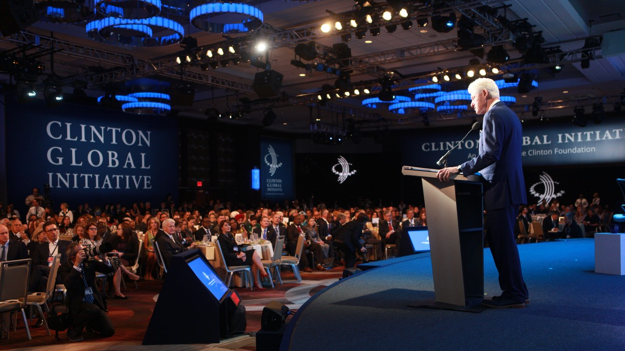 'Sustainable Oceans' at the 2015 CGI Annual Meeting