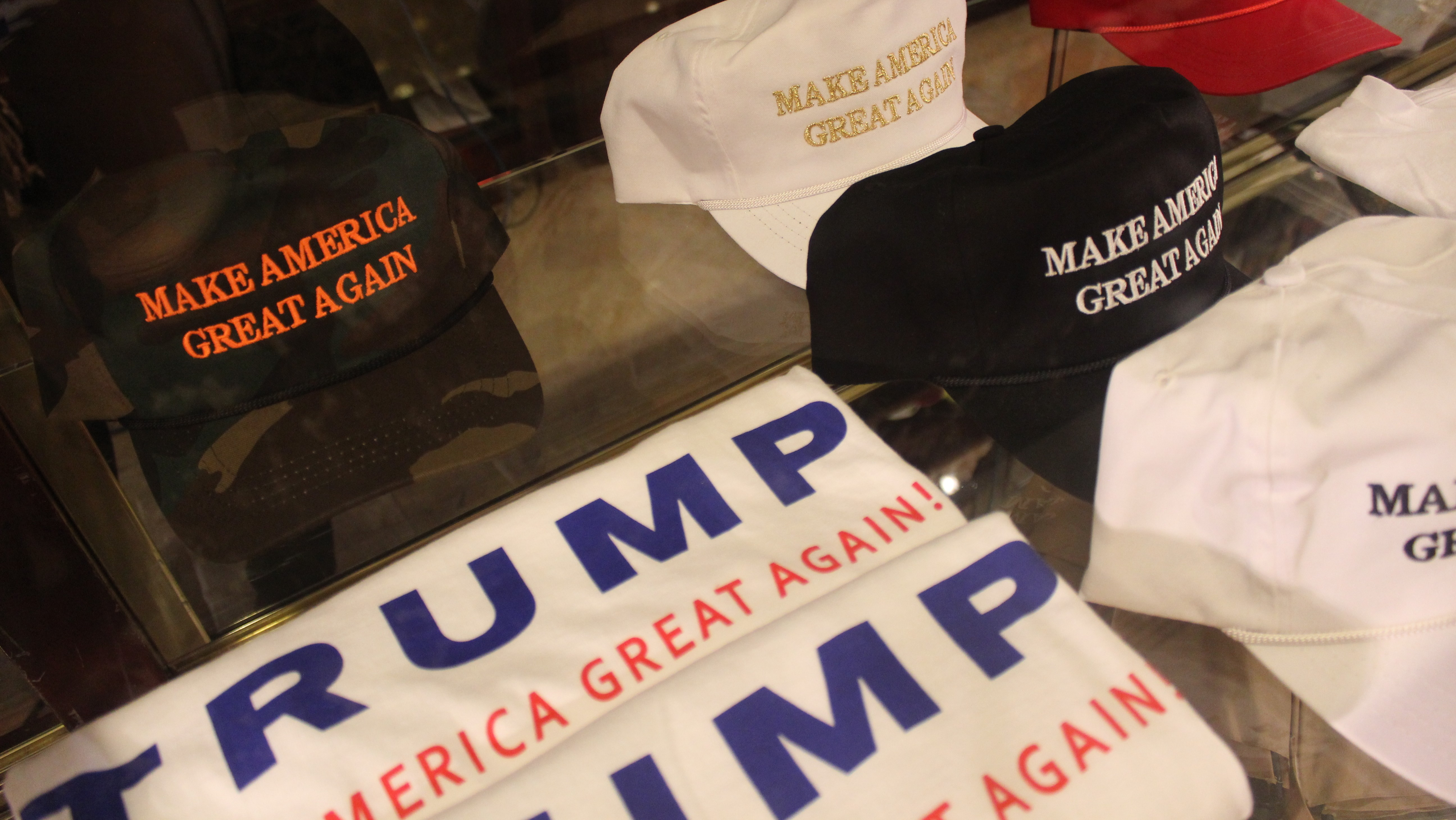 Trucker Hats and Pom-Poms: How Selling Swag Is Affecting the 2016 US Elections